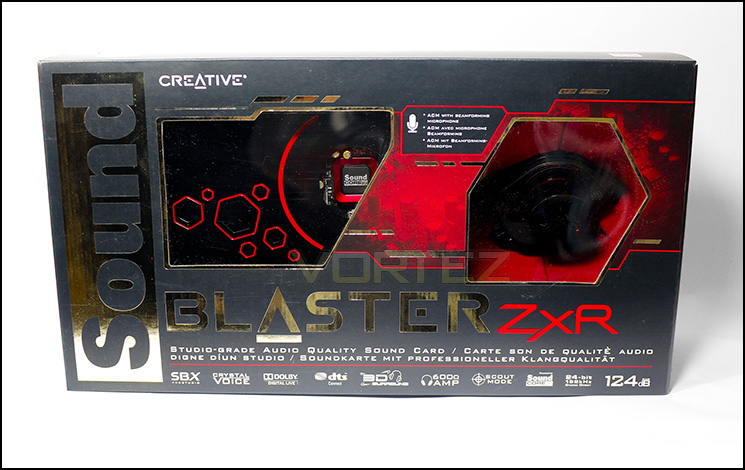 Creative Sound Blaster Zxr Review Packaging Amp First Look
