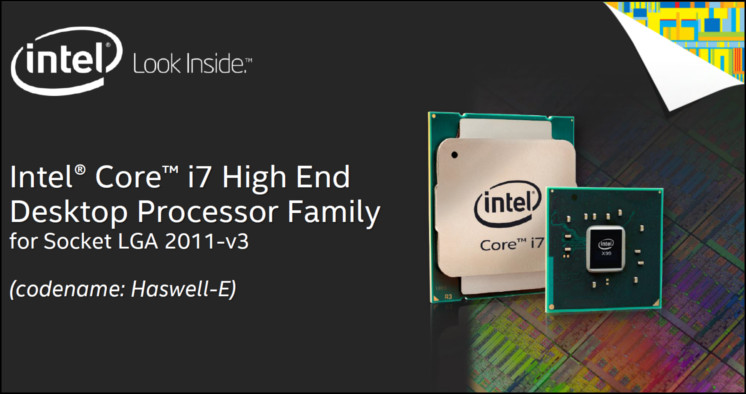Intel core i7-5960x 3. 0ghz eight-core (bx80648i75960x) processor.