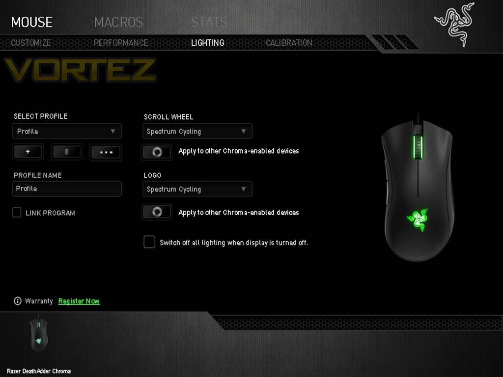 Razer DeathAdder Chroma Review - Software & Performance (Continued)