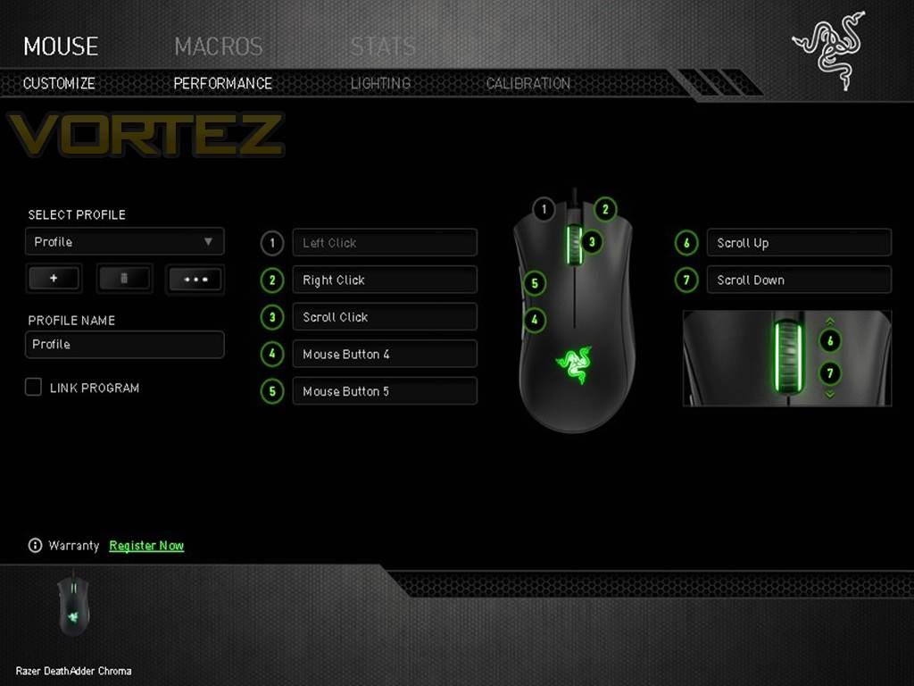Razer DeathAdder Chroma Review - Software & Performance