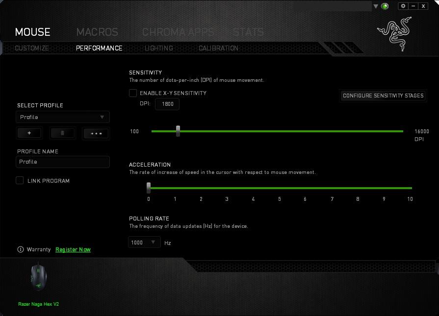 Razer Naga Hex V2 Review - Software & Lighting