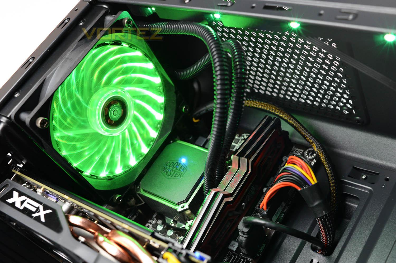 Fierce PC BlackFire Apex Review - Closer Look: Internal
