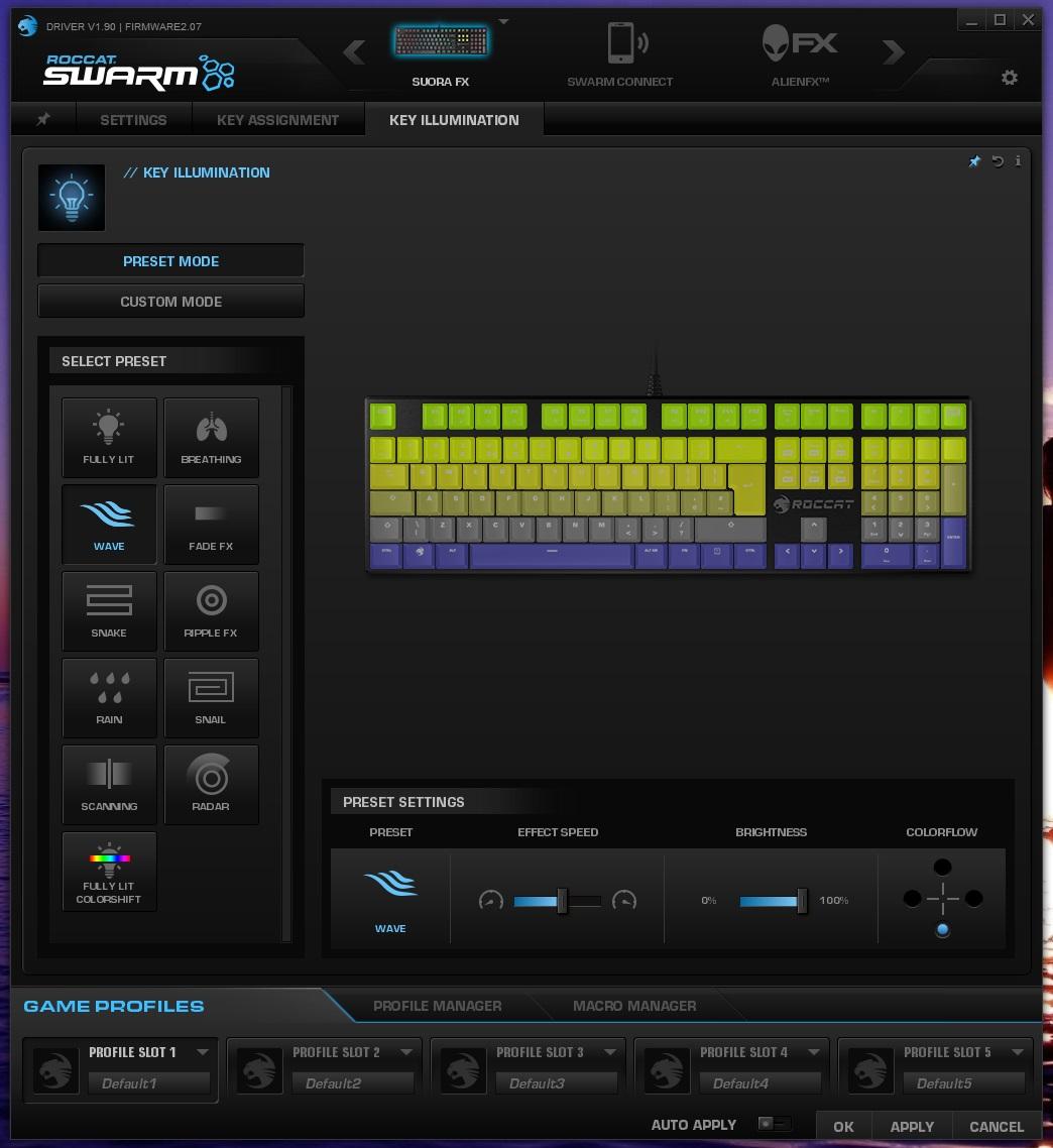 ROCCAT SUORA FX Review - Software & Lighting