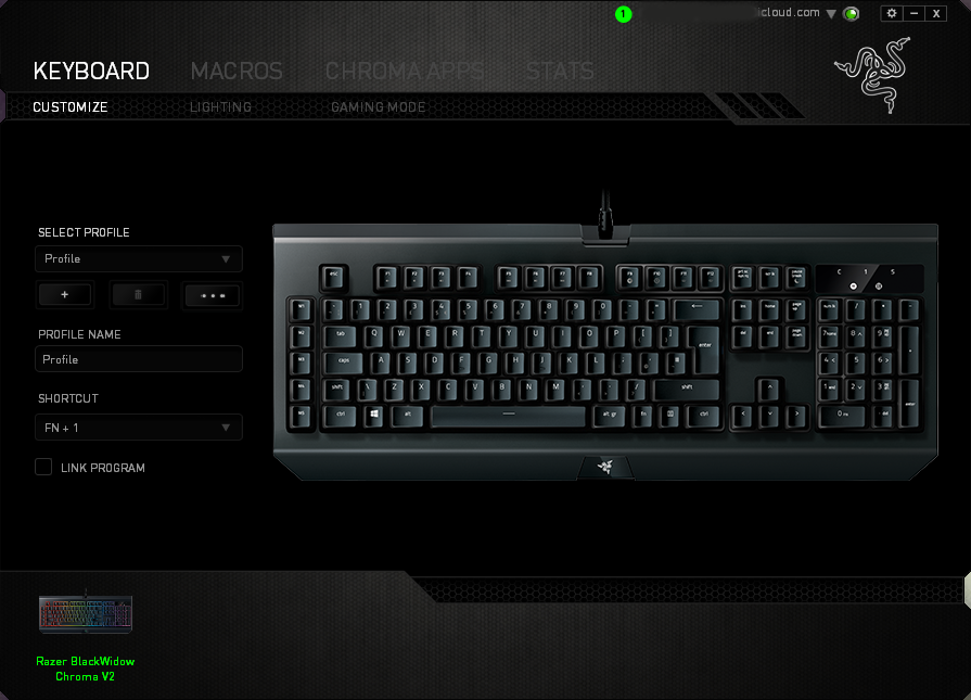 Razer Blackwidow Chroma V2 Review - Software