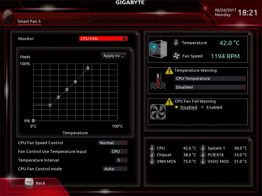gigabyte cpu oc software