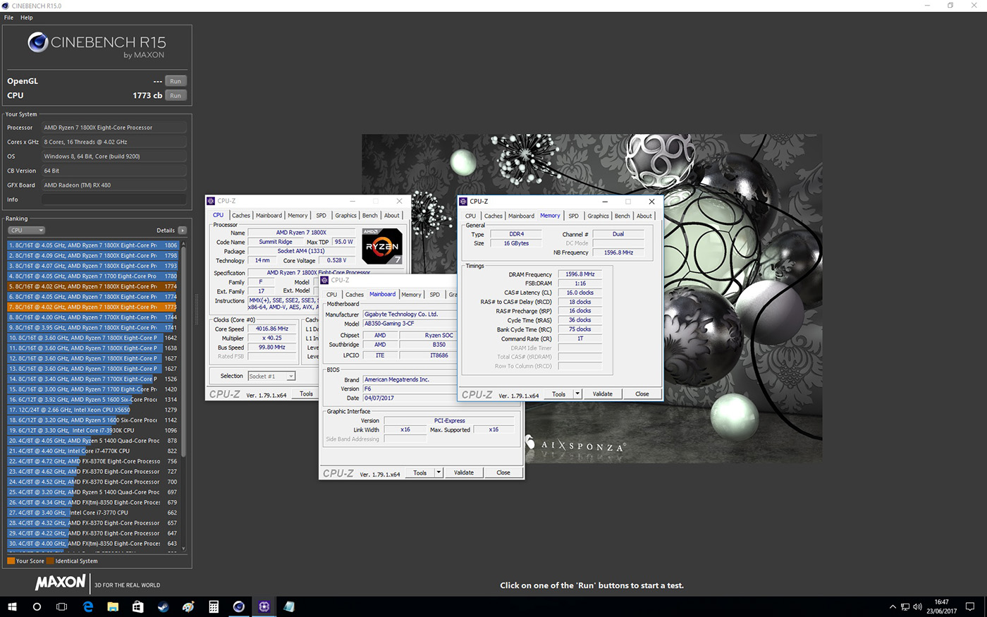 GIGABYTE GA-AB350 Gaming 3 Review - Test Setup & Overclocking