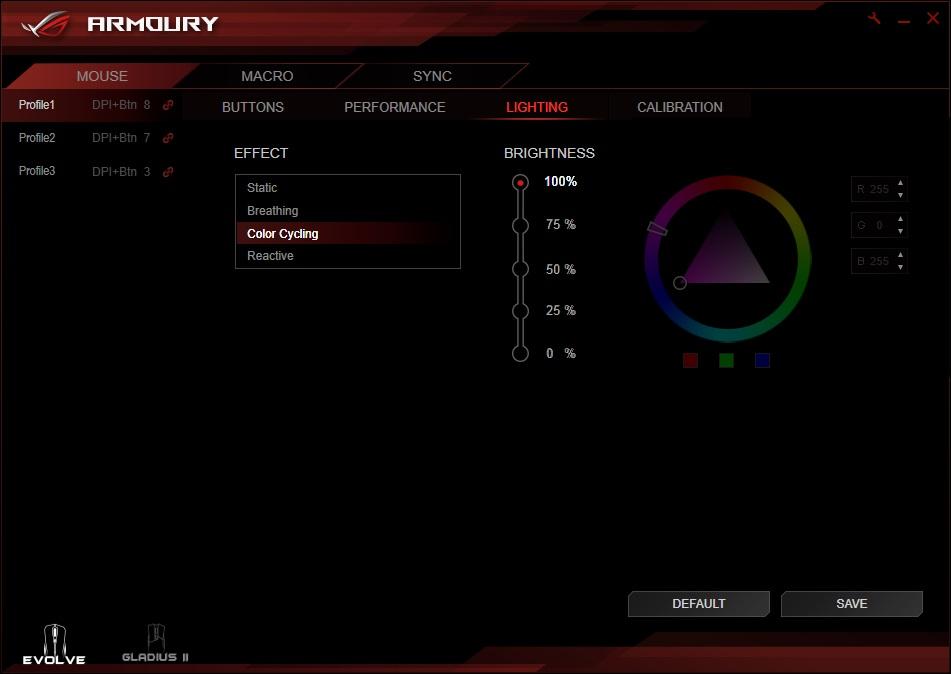 ASUS ROG Strix Evolve Review - Software