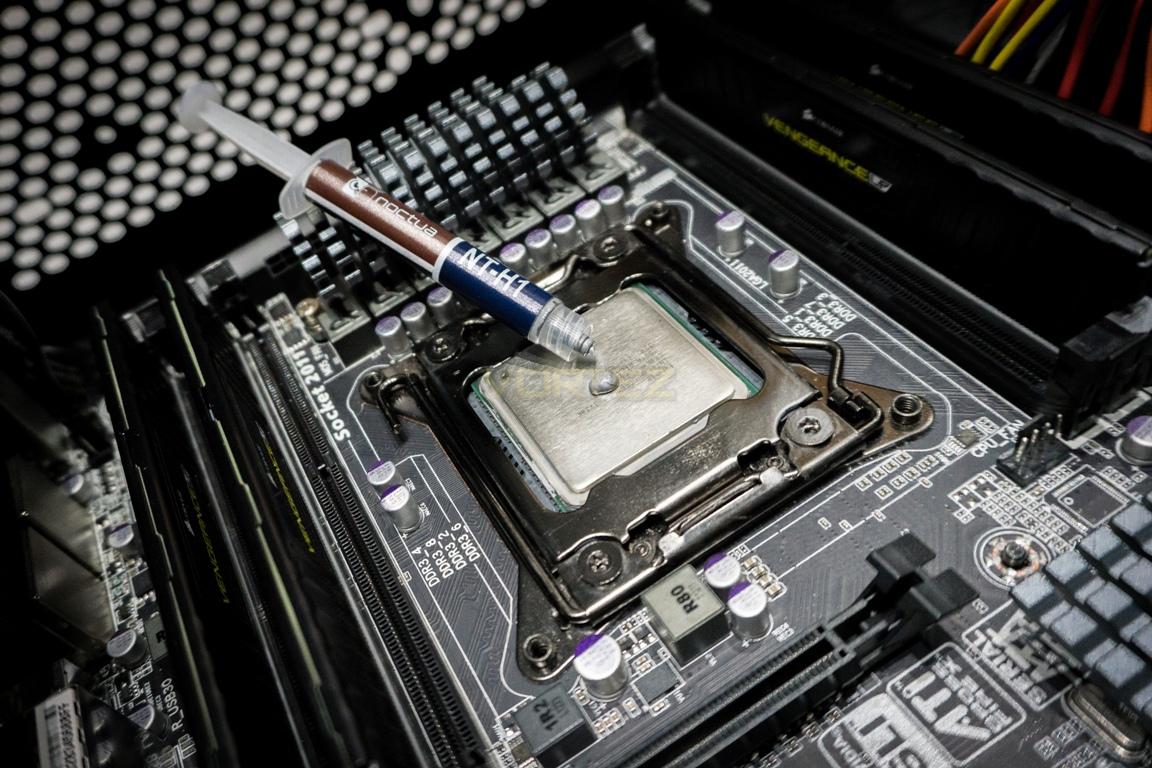Arctic Freezer 33 eSports Edition Review - Installation