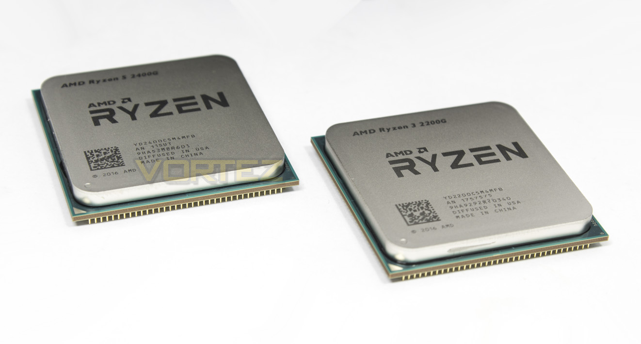 AMD RYZEN 3 2200G and RYZEN 5 2400G Review - Introduction