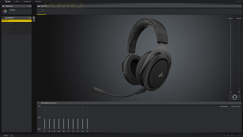 Corsair HS70 Review - Software