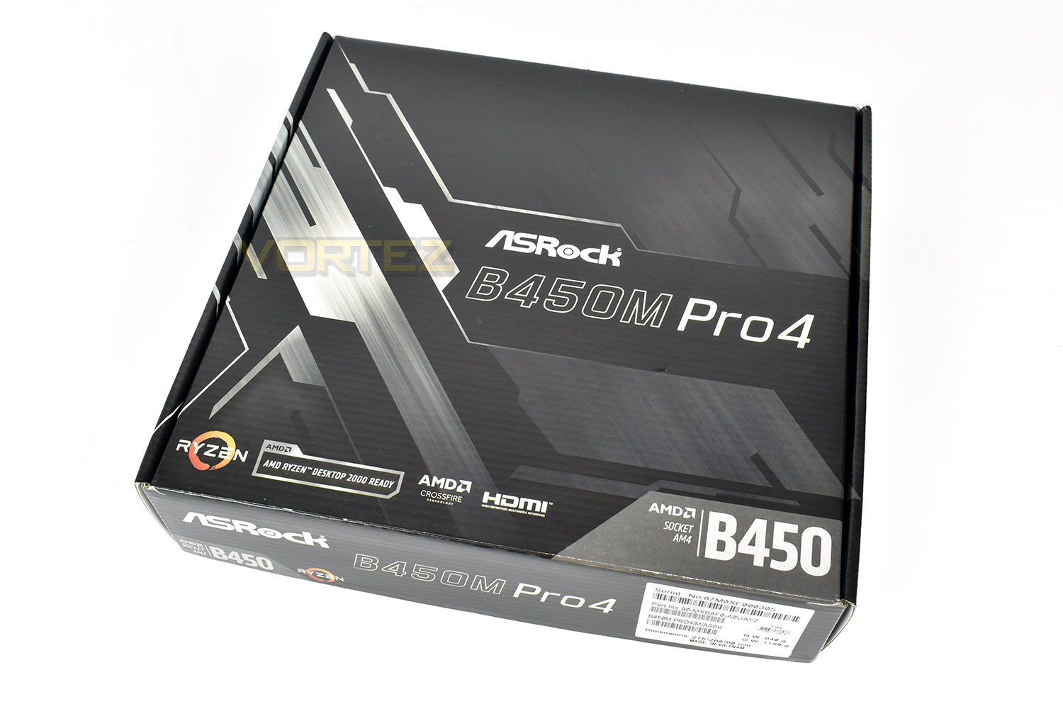 ASRock B450M Pro4 Review - Packaging & First Look