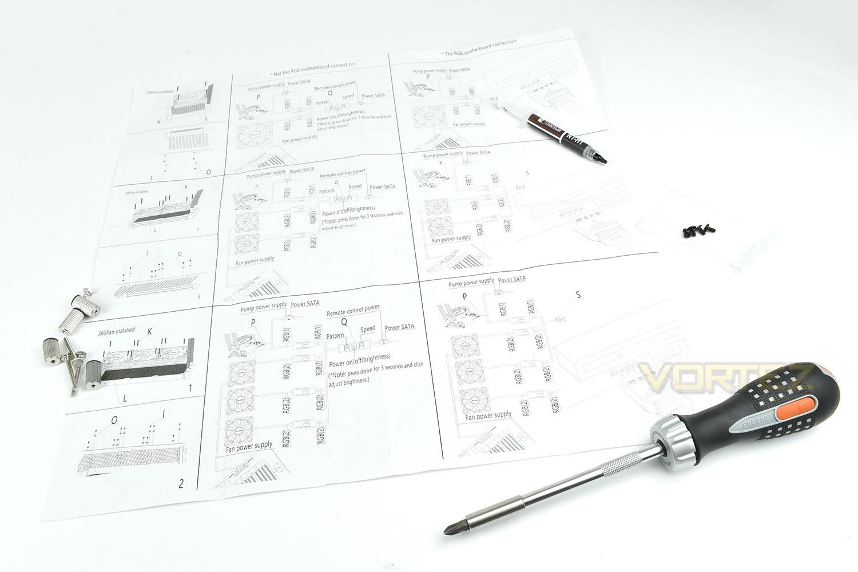 Antec Mercury 240 Rgb Review Installation