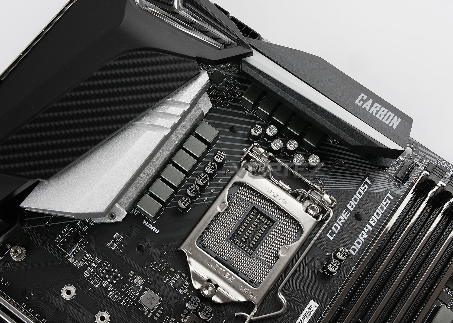 MSI MPG Z390 Gaming Pro Carbon Preview - Closer Look
