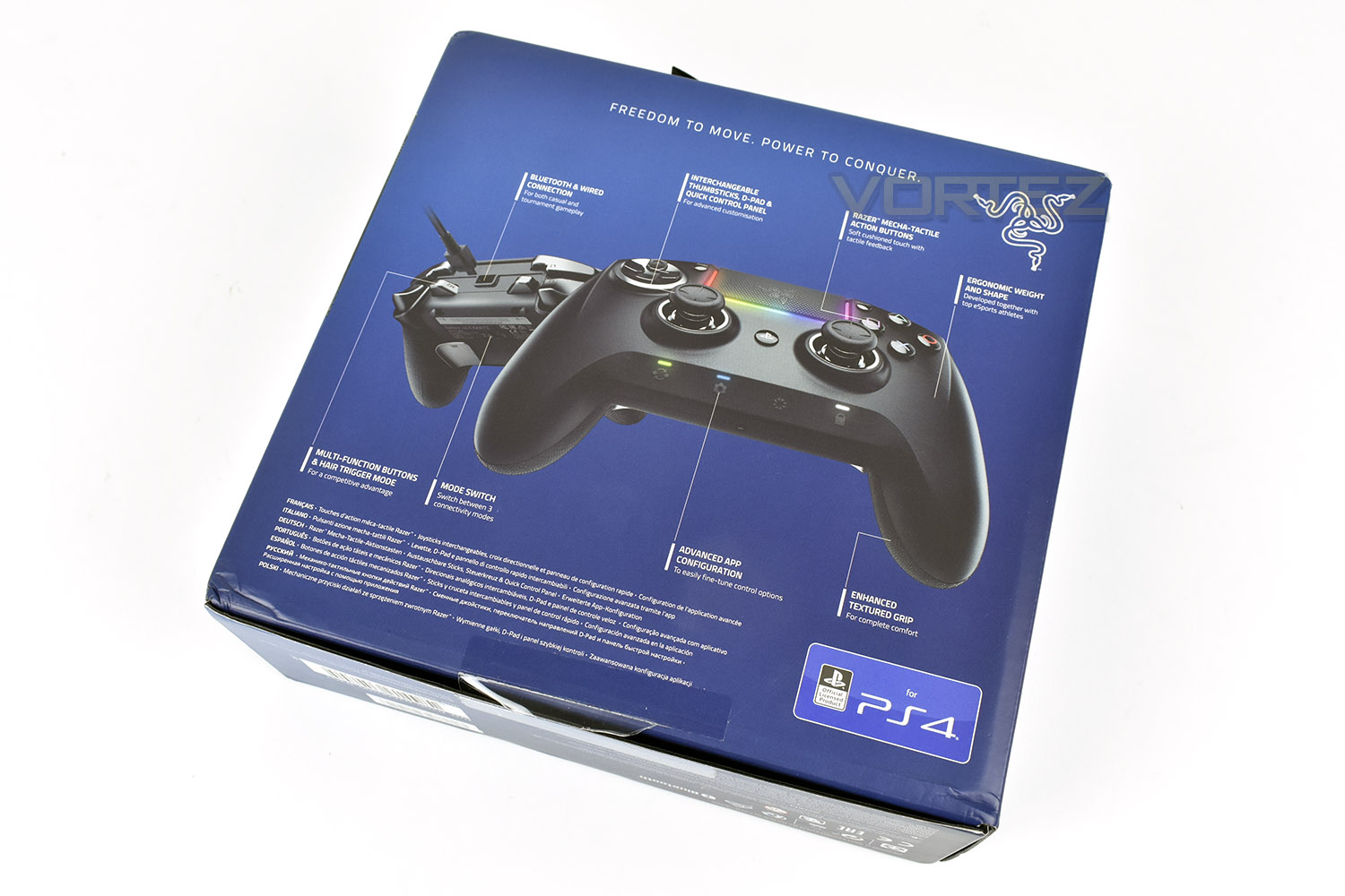 Razer Raiju Ultimate Review Packaging Bundle Razer raiju tournament edition gaming controller features bluetooth and wired connection, and the first to have a mobile configuration app. razer raiju ultimate review packaging