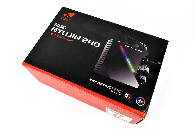 ASUS ROG Ryujin 240 Review - Packaging & Bundle