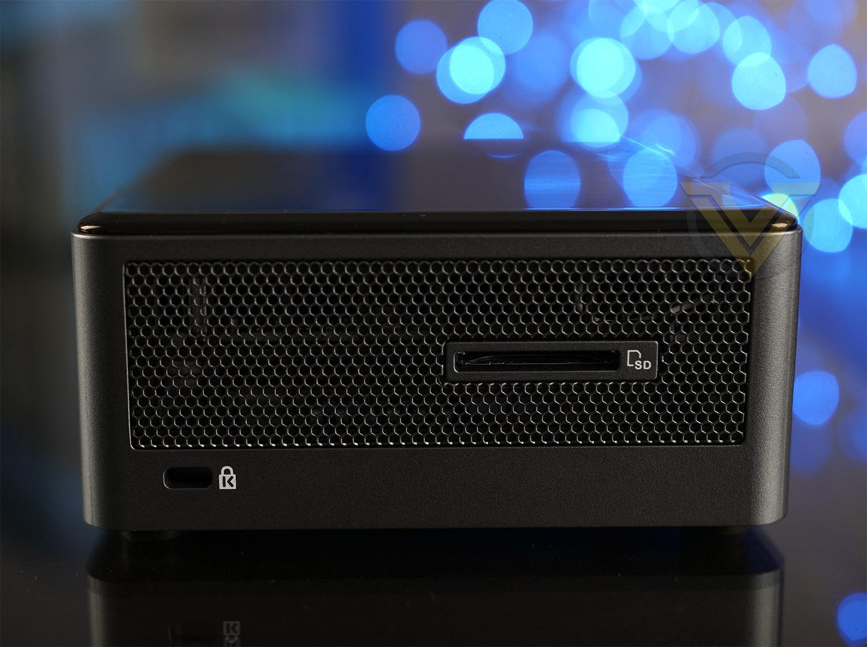 Intel NUC 8 Mainstream-G Mini PC NUC8i5INH Review - Bundle