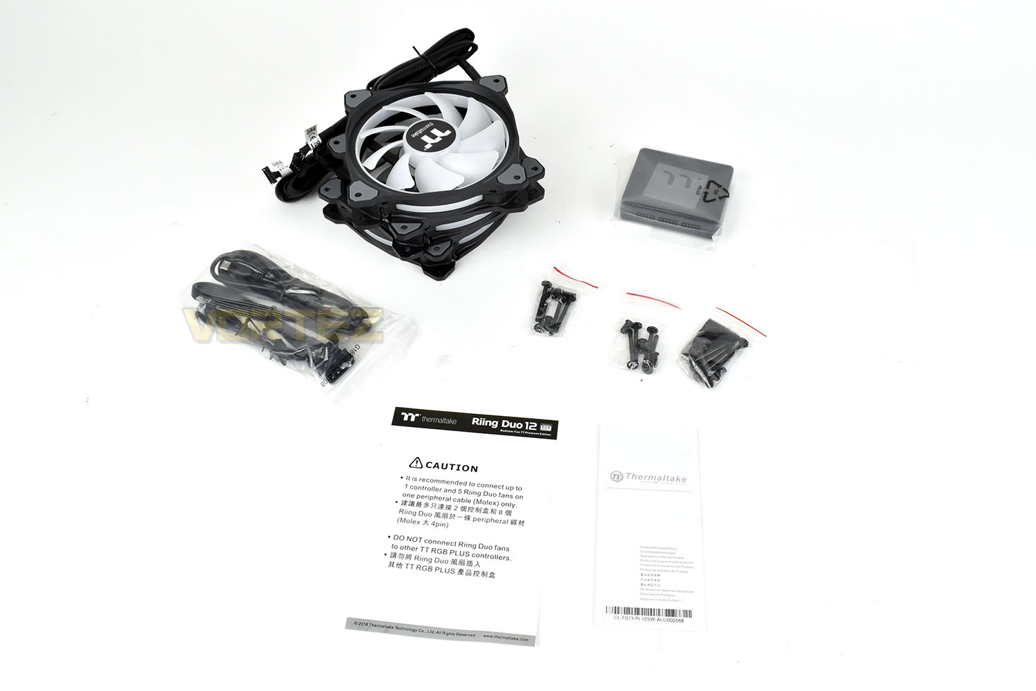 Thermaltake Riing Duo 12 Radiator Fan TT Premium Edition