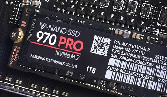 Samsung 970 PRO SSD Review