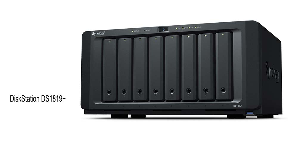 Synology Presents RackStation RS1619xs+ and DiskStation