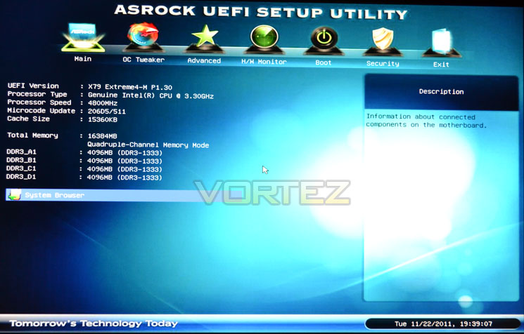 ASRock X79 Extreme4-M Review - Overclocking & BIOS Configuration
