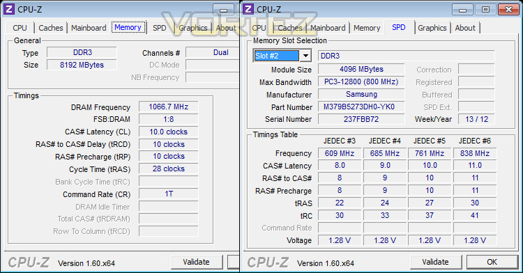Samsung Green DDR3 8GB 1600MHz 30nm Review - Test System
