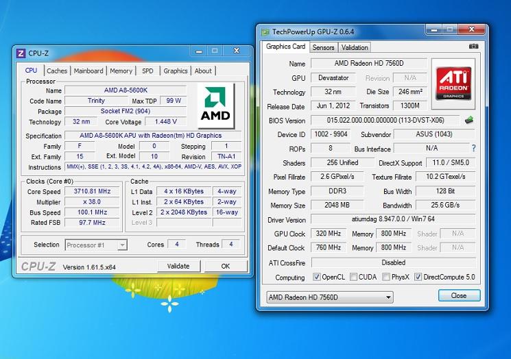 AMD A8-5600K (Trinity) Review - Overclocking