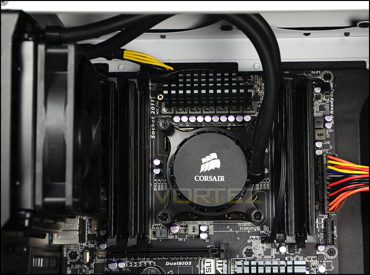 Corsair Hydro Series H55 Review Installation Process