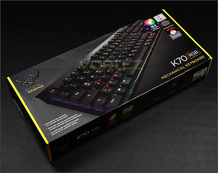 Corsair Gaming K70 RGB Review - Packaging & Bundle
