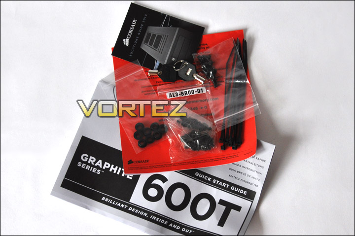 accessories kit included within the 600t