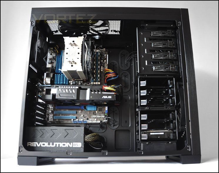Obsidian series™ 750d full tower atx case.