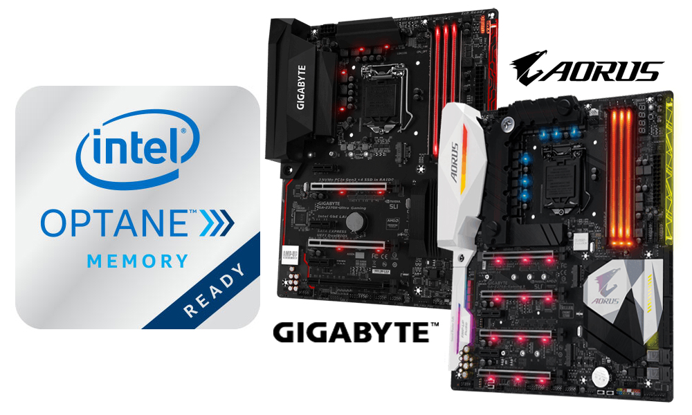 GIGABYTE Releases BIOS Updates to Support Intel Optane