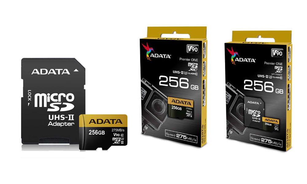 Adata Premier uno 64Gb SDXC tarjeta UHS-clase 10 U3 V90 video Ii Velocidad 8K R//W nuevo