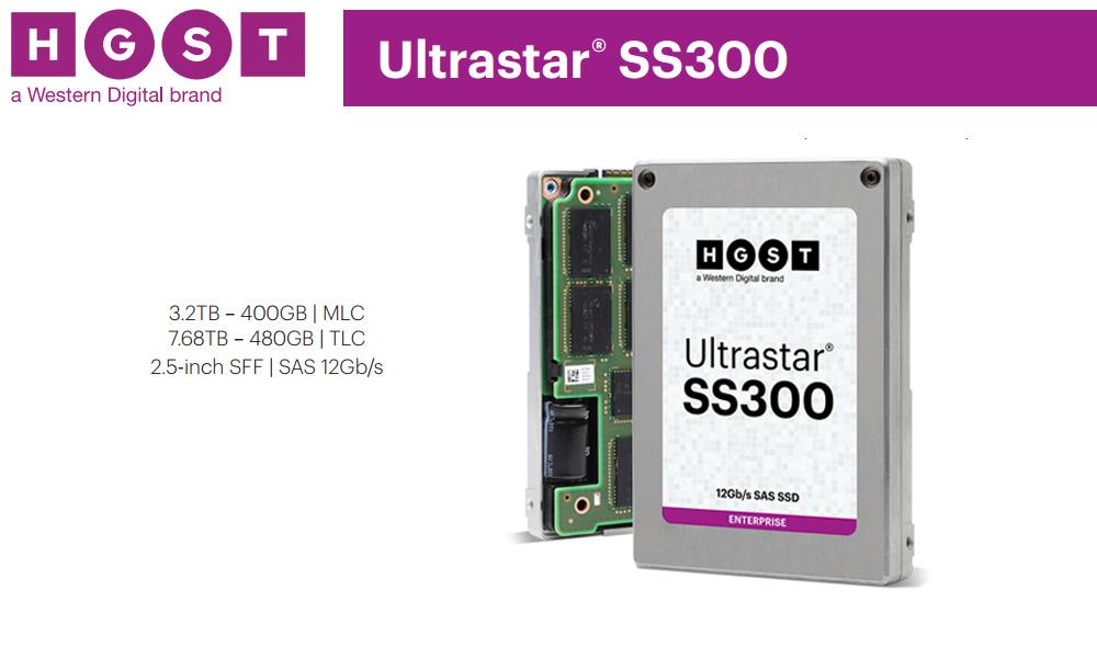 HGST Ultrastar SS300 - Highest Performing 12Gb/s SAS SSD
