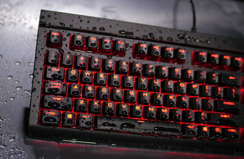 f0bd4409111 Tough and Spill-Resistant Corsair K68 Mechanical Gaming Keyboard