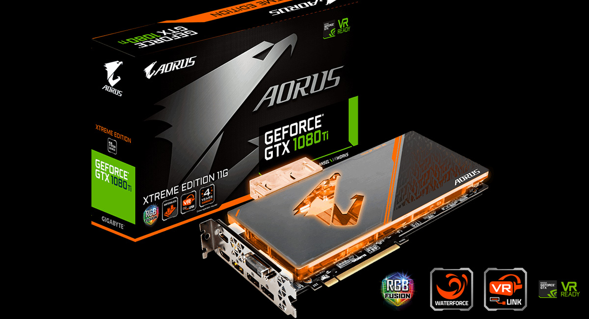 GIGABYTE AORUS Officially Introduces Two Liquid Cooled GTX