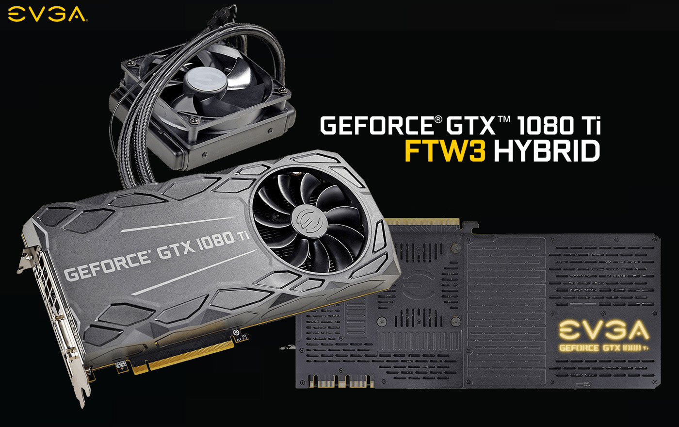 EVGA Introduces GeForce GTX 1080 Ti FTW3 HYBRID