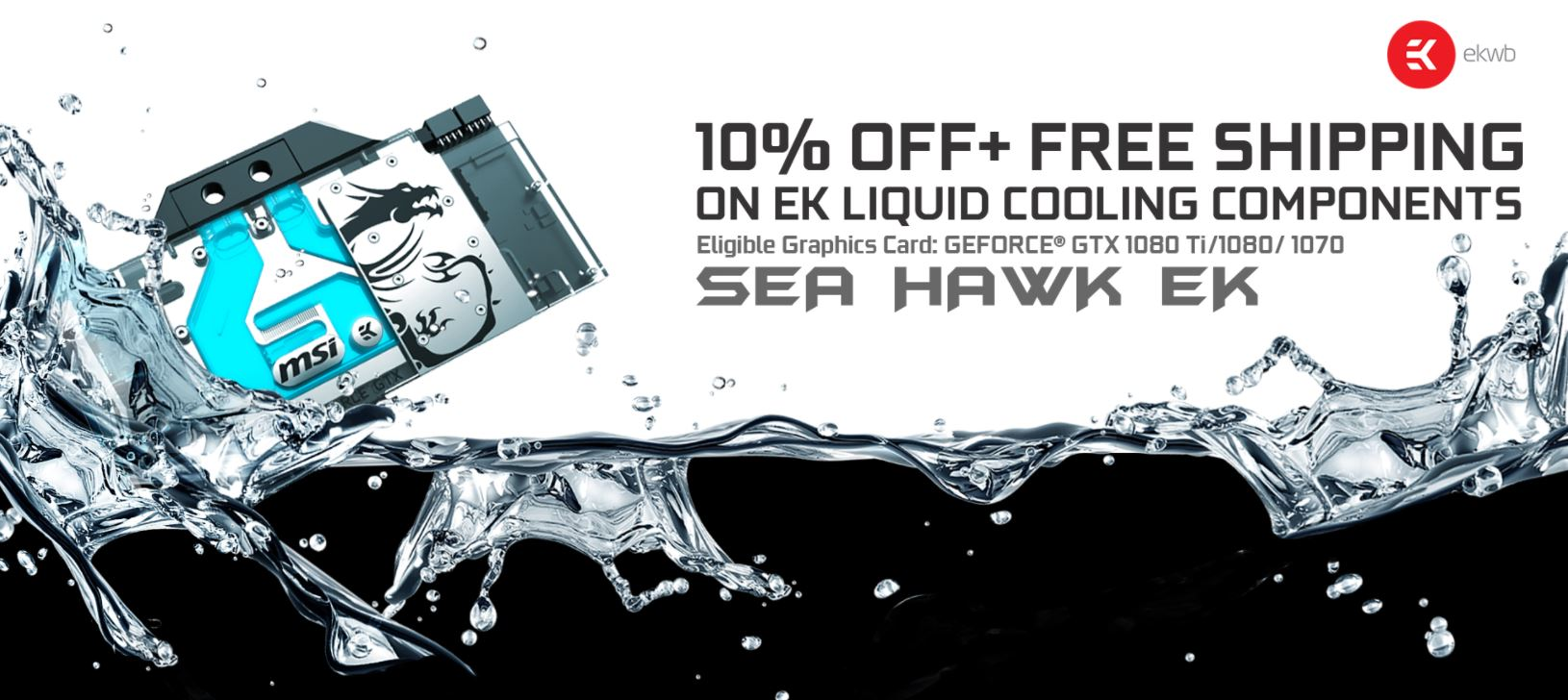 MSI Partners with EKWB for Sea Hawk EK Promotion