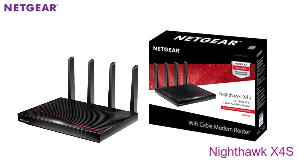 NETGEAR Nighthawk X4S: World's First Retail DOCSIS 3 1 Cable