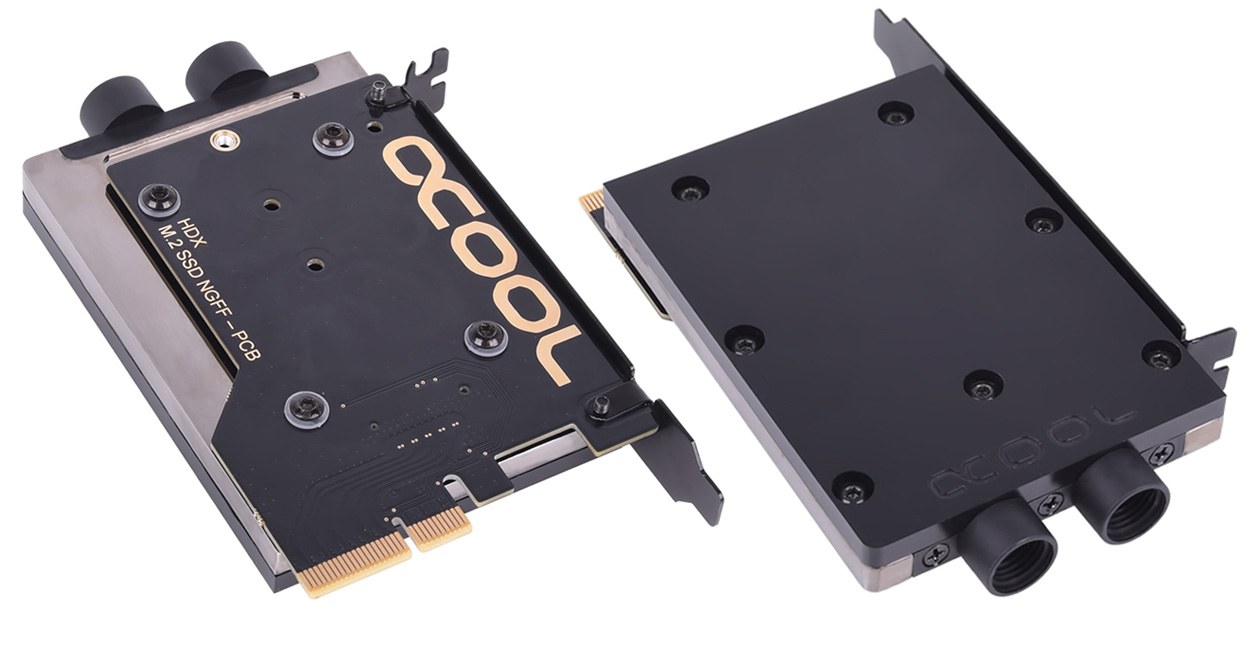 Alphacool Expands M 2 Cooling Solutions With Eisblock Hdx 2 And Hdx 3