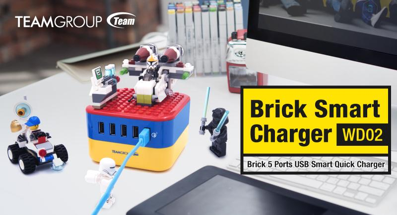 Team Group's Lego-Inspired WD02 Brick Charger
