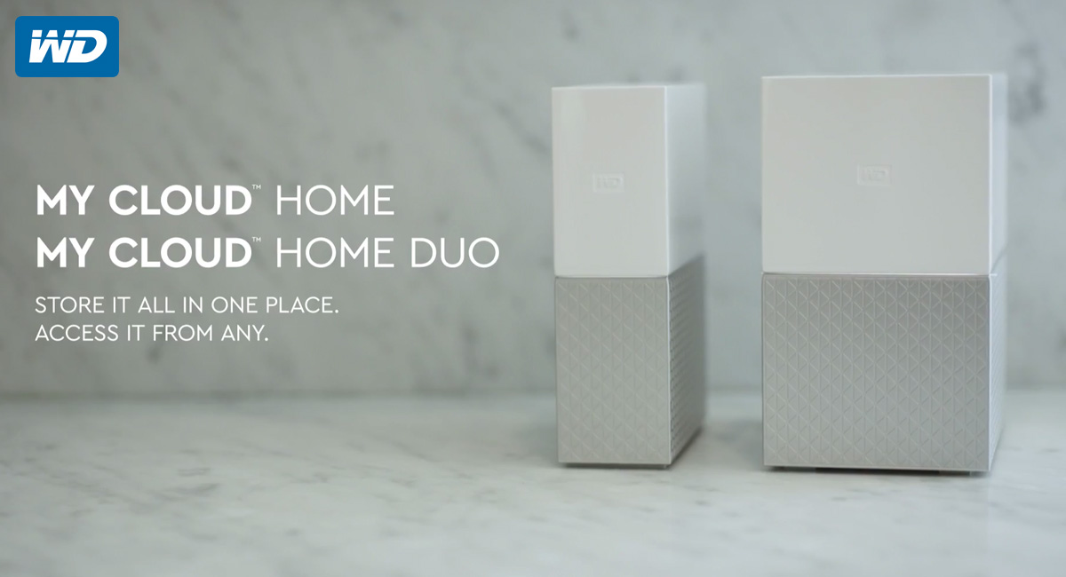 WD Intros My Cloud Home and My Home Duo Offering Up To 16TB