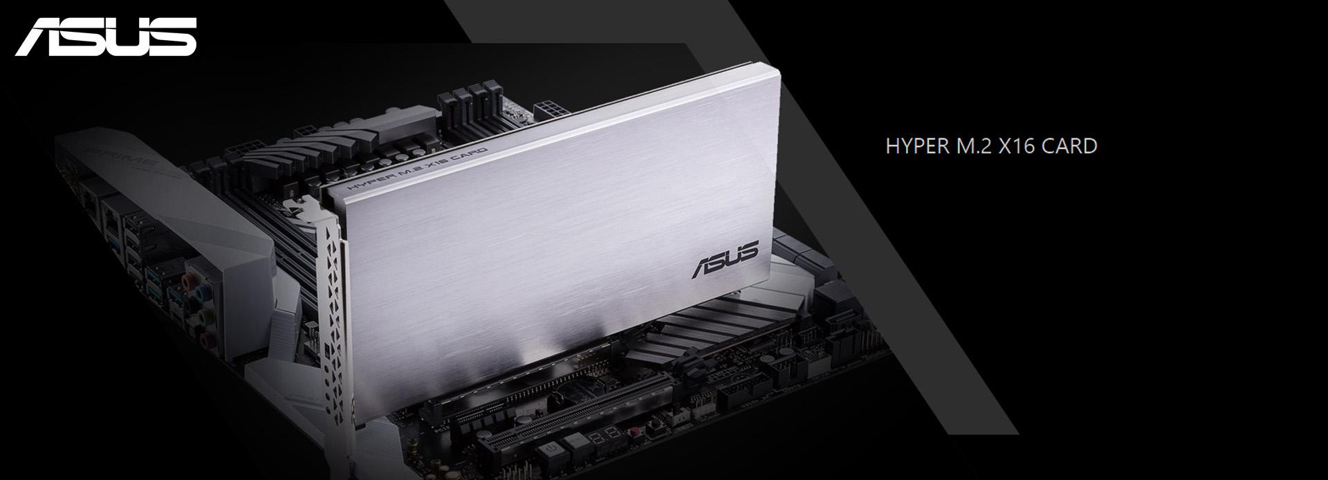ASUS Releases HYPER M 2 X16 RAID Card