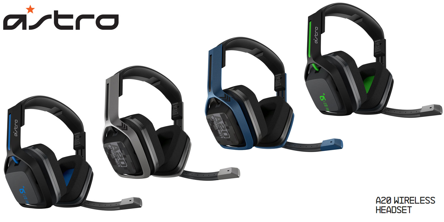 ad56314ccd4028 Logitech Announces Availability of ASTRO A20 Wireless Headset