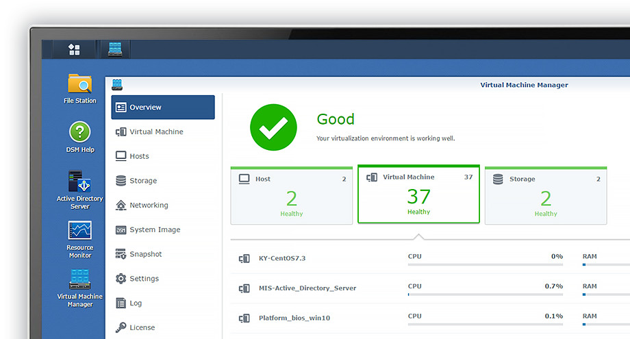 Synology Launches Virtual Machine Manager For Synology NAS