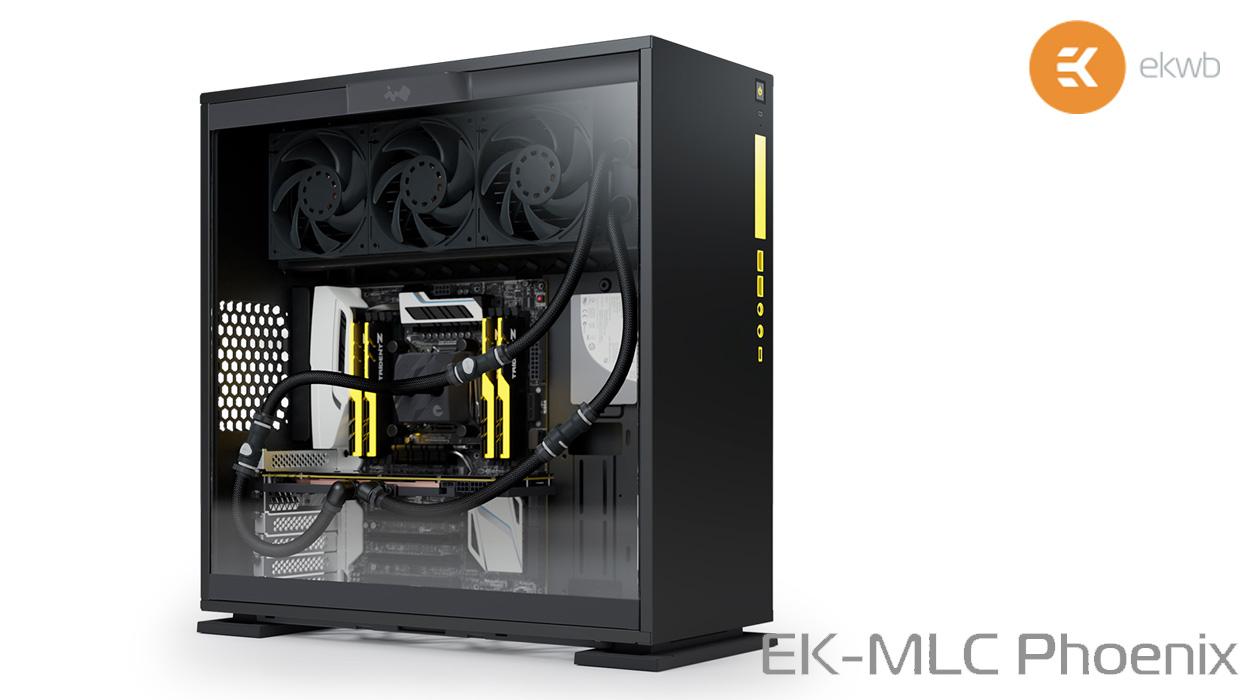 EKWB Presents EK-MLC Phoenix Modular AIO Liquid Cooling