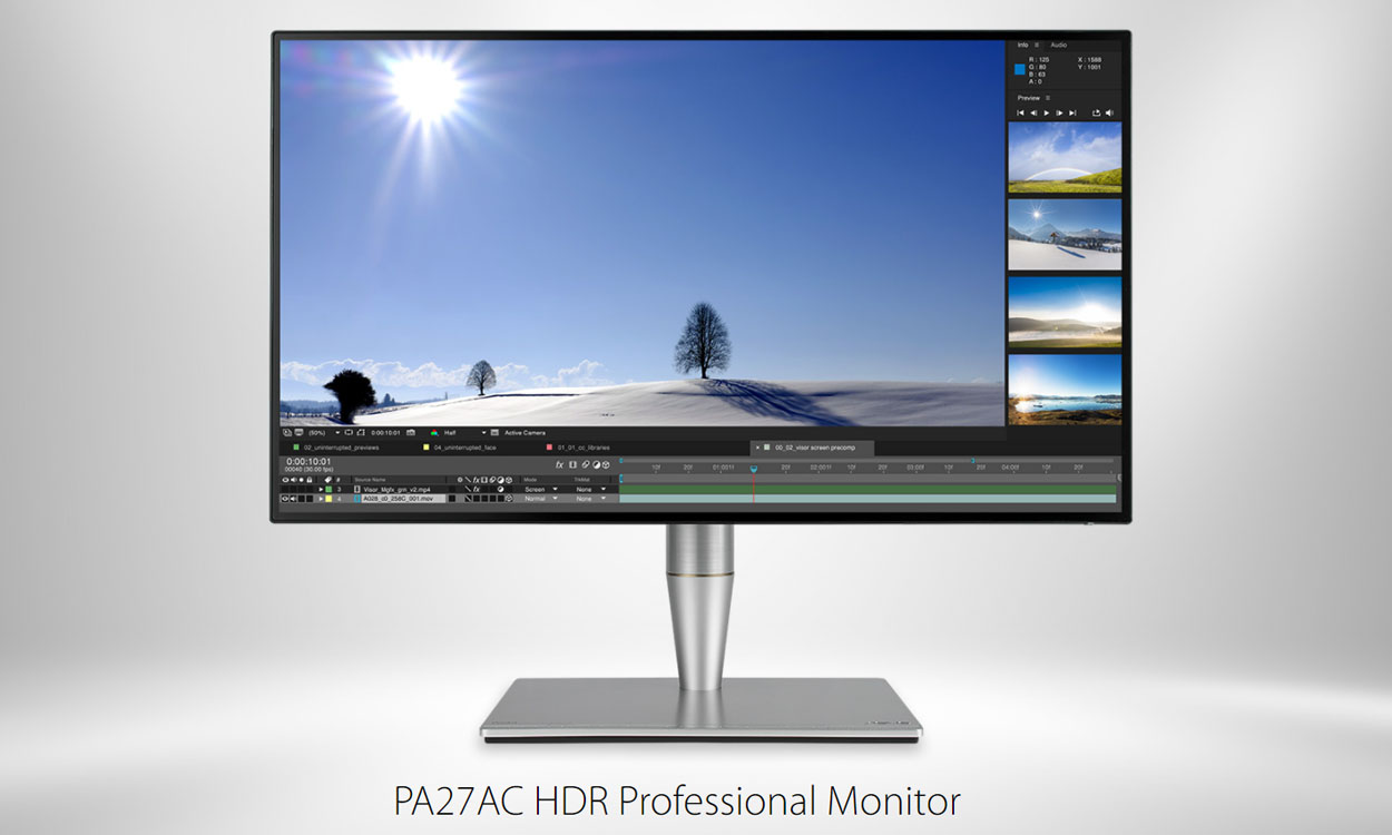 ASUS presents the new ProArt PA27AC HDR
