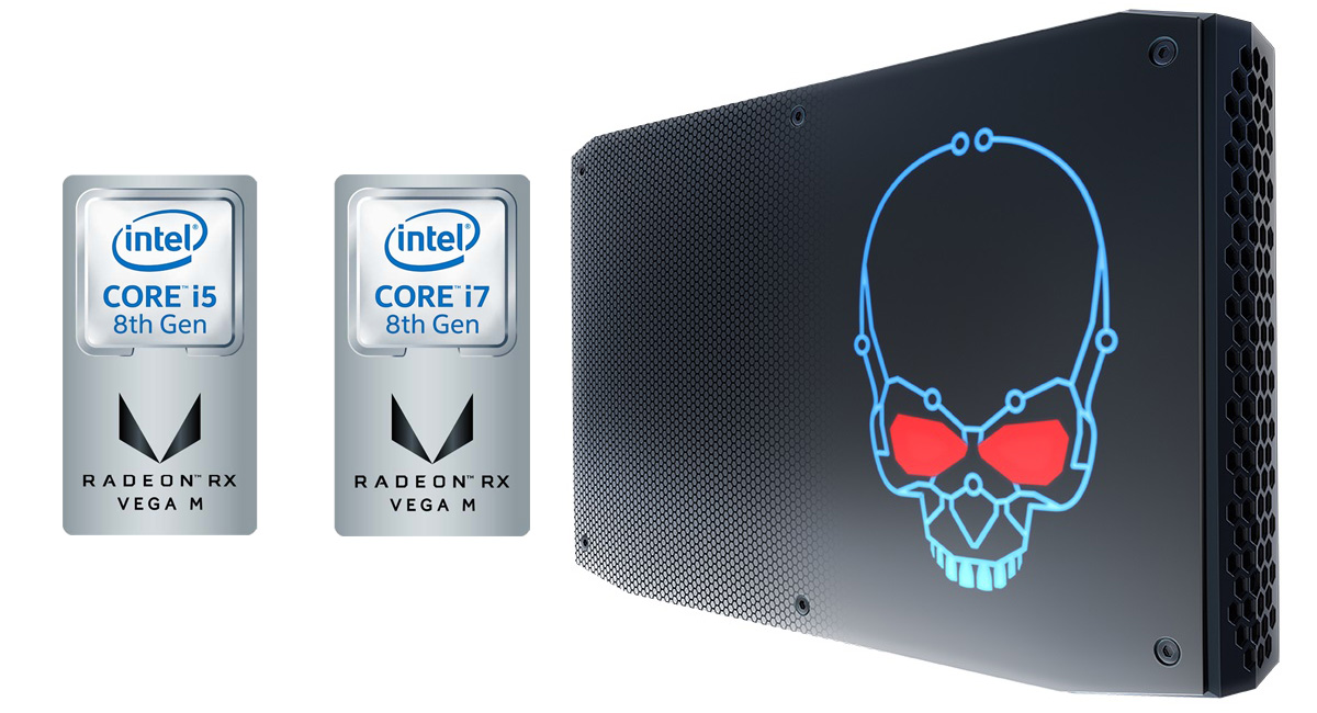 Intel's VR-Capable Hades Canyon NUC Motherboard Pictured