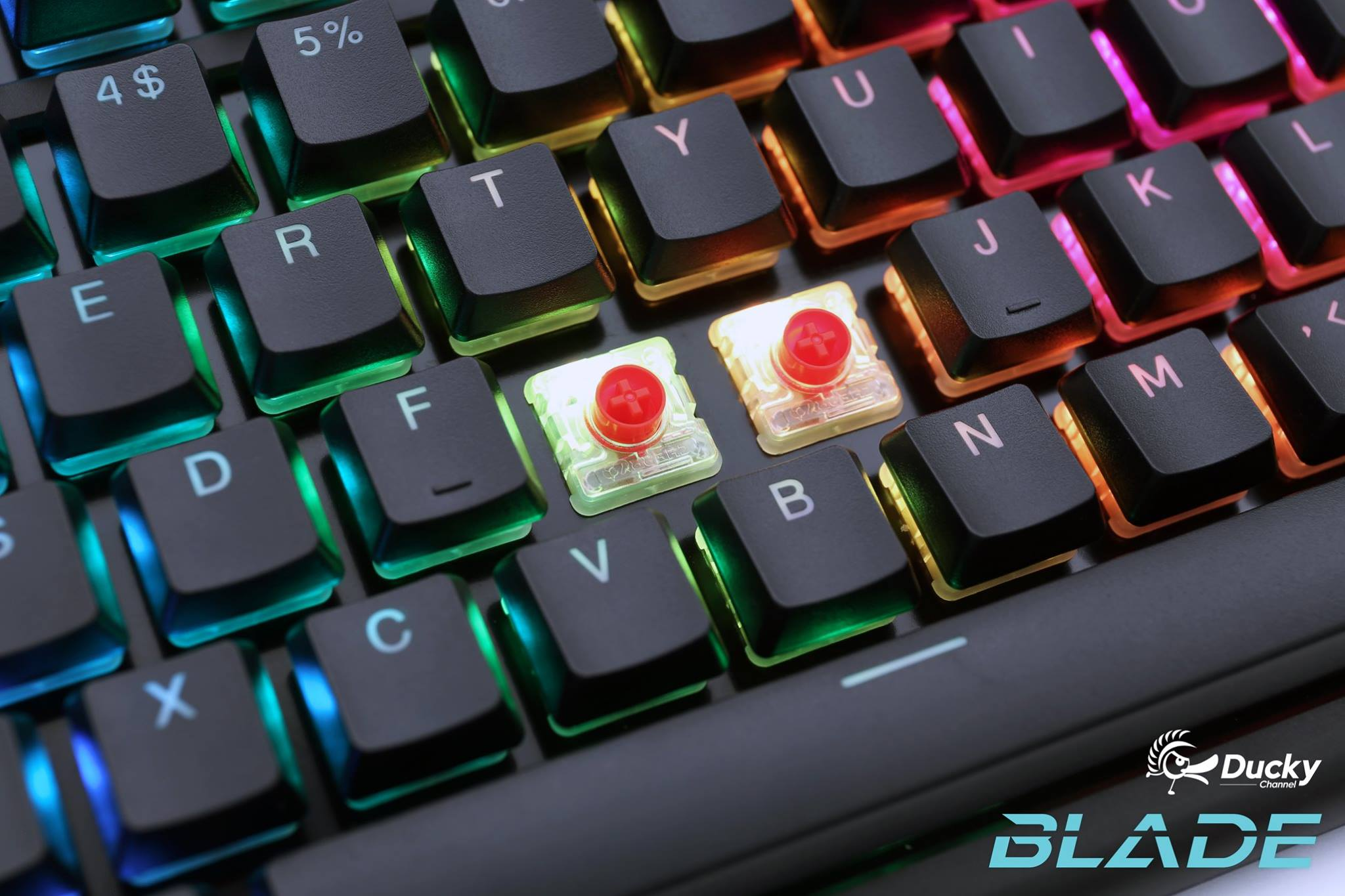 d278e047715 Ducky Blade Air Teased Featuring CHERRY MX Low Profile RGB Switches