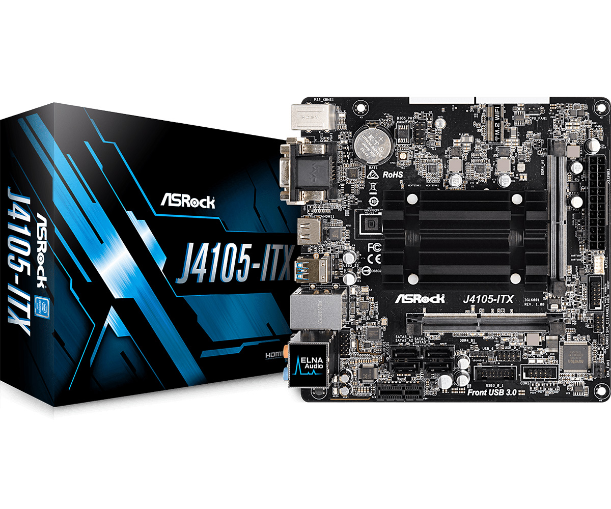 ASRock Lists Gemini Lake-Powered Motherboards at Website