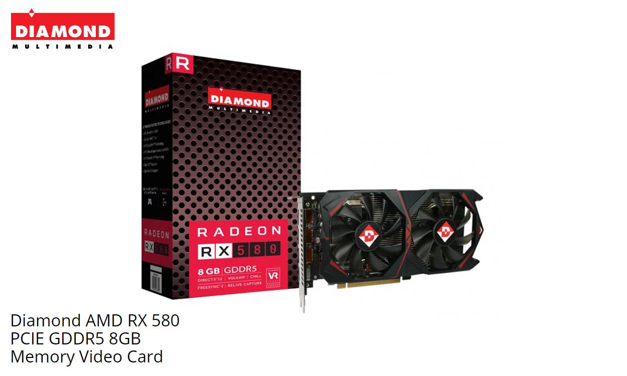 Diamond Multimedia Releases Radeon RX 580 8GB Graphics Card